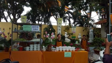 Nữ tu huyện Bình Chánh tổ chức liên hoan ẩm thực chay, gây quỹ từ thiện