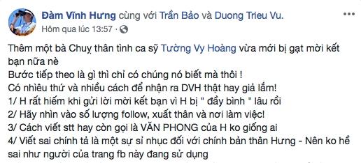 Gia Facebook nghe si, truc loi tien quyen gop Le Binh, Mai Phuong