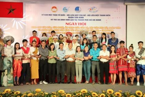 Quận Tân Bình: Giao lưu văn nghệ - ẩm thực với sinh viên Lào, Campuchia