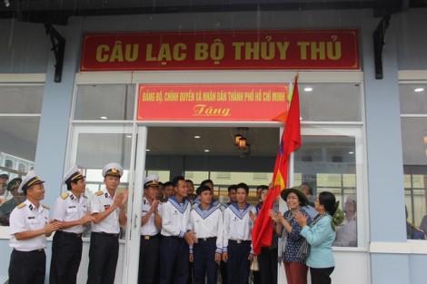 TP.HCM xây tặng Nhà CLB Thủy thủ Lữ đoàn 127, Vùng 5 Hải quân
