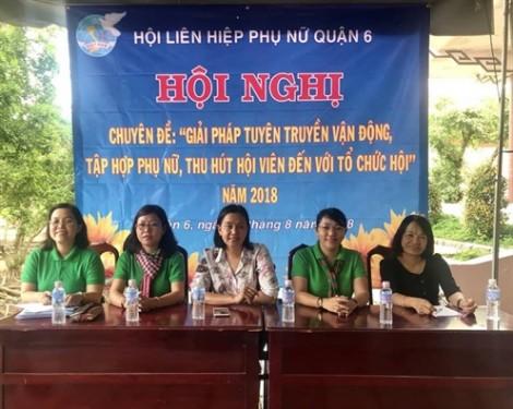 Quận 6: Thu hút hội viên, tập hợp phụ nữ nhờ vị thế của Hội trong từng khu phố