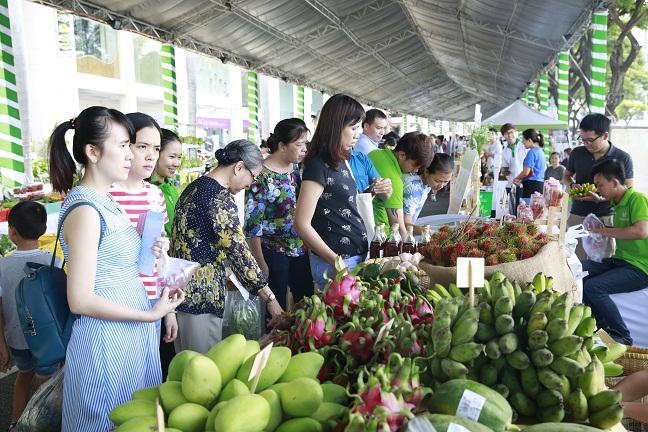 Cung 'Song xanh - song khoe' tai Ngay hoi xanh Phu My Hung 2018
