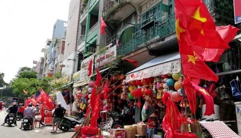 Con đường ở Sài Gòn ngập tràn màu cờ sắc áo trước trận đấu lịch sử của Olympic Việt Nam