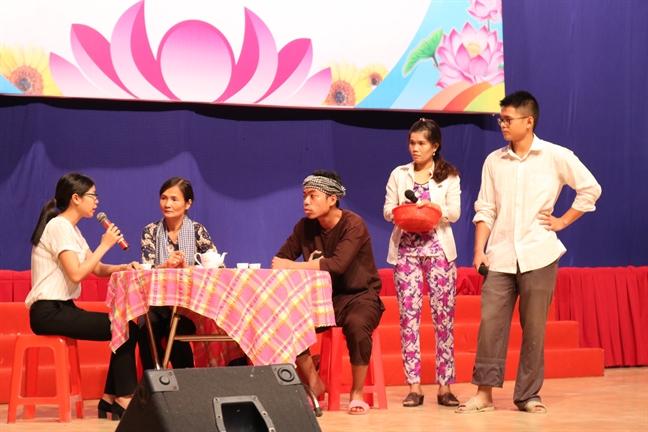 Quan 2: Phuong Thao Dien doat giai nhat 'Can bo Hoi co so gioi' nam 2018