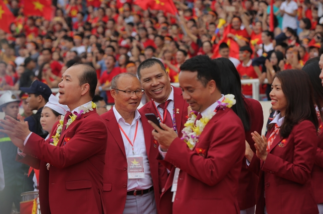 San My Dinh kin nguoi ham mo du le vinh danh doan the thao VN ve tu ASIAD
