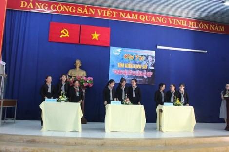 Huyện Củ Chi: Ôn lịch sử bằng hội thi sôi nổi