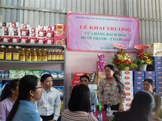 Huyen Binh Chanh: Ra mat cua hang lien ket thu 23