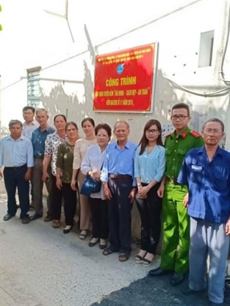 Huyện Nhà Bè: Ra mắt tuyến hẻm 'Văn minh - Sạch đẹp - An toàn'