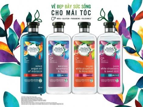 Thương hiệu chăm sóc tóc cao cấp Herbal Essences chính thức ra mắt tại Việt Nam