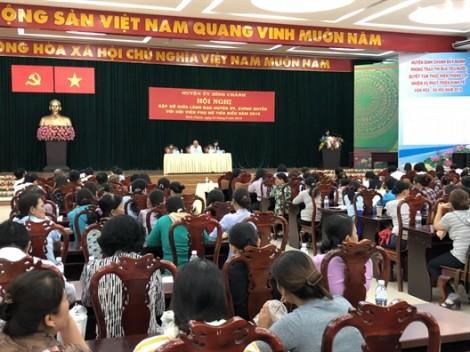 Bình Chánh: Lãnh đạo huyện ủy, chính quyền gặp gỡ hội viên tiêu biểu