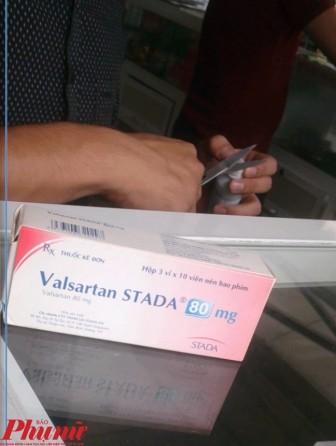 Thu hồi thêm 8 loại thuốc tim mạch chứa nguyên liệu Trung Quốc có thể gây ung thư