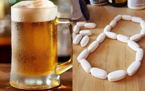 Cách làm đẹp đơn giản từ... bia