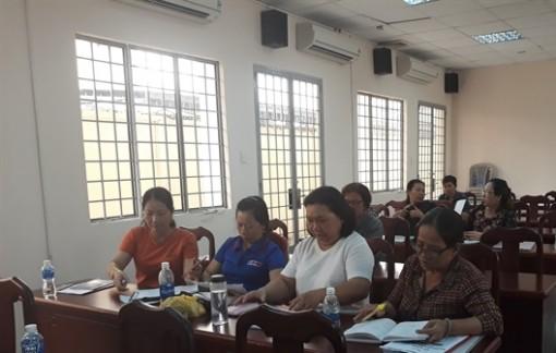 Huyện Hóc Môn: Đào tạo kỹ năng quản lý và khởi nghiệp cho hội viên