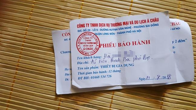 'Dot nhap' tru so 'ma' cua cong ty to chuc du lich 0 dong ban hang kem chat luong