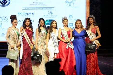 Đến lượt Miss Eco International tước danh hiệu Á hậu của Thư Dung