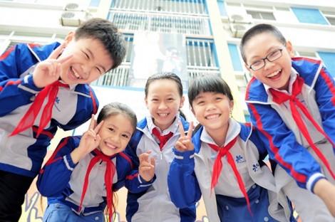 Xin cho các con niềm vui mỗi ngày đến trường