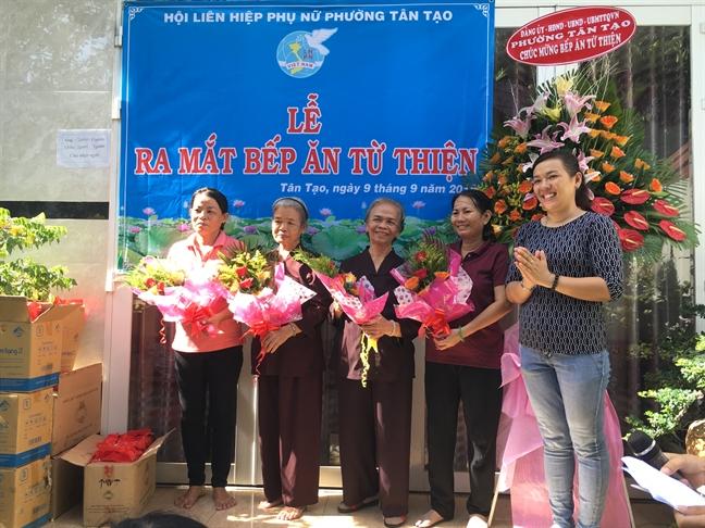 Quan Binh Tan: Ra mat bep com tu thien phuong Tan Tao