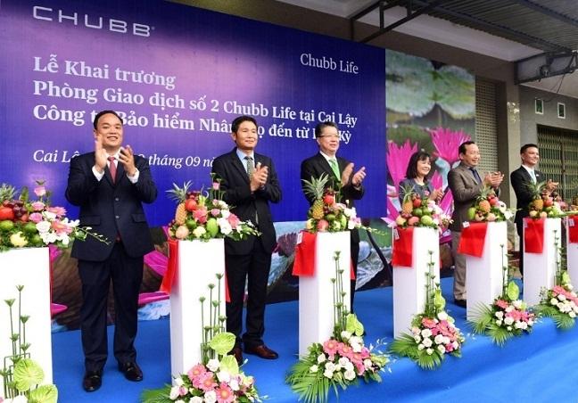Chubb Life Viet Nam khai truong van phong kinh doanh thu hai tai Cai Lay