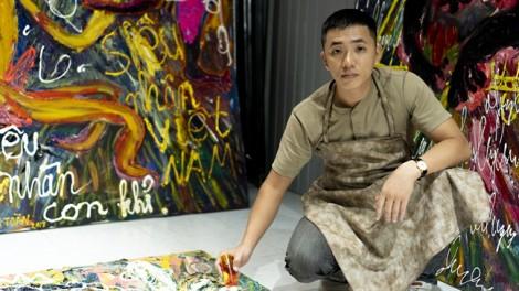 Họa sĩ Phạm Thanh Toàn: 'Mỗi năm, tôi theo đuổi một dòng tranh mới'