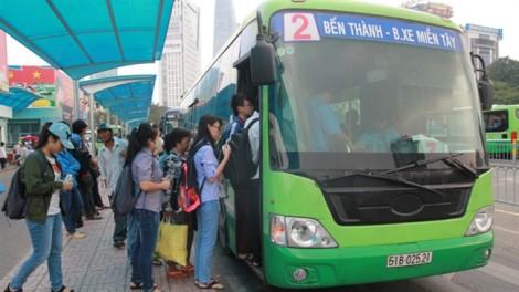 TP.HCM: Đề xuất miễn vé xe buýt dịp lễ, tết