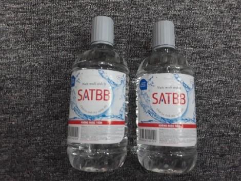 Thu hồi lô nước muối sinh lý không đảm bảo chất lượng