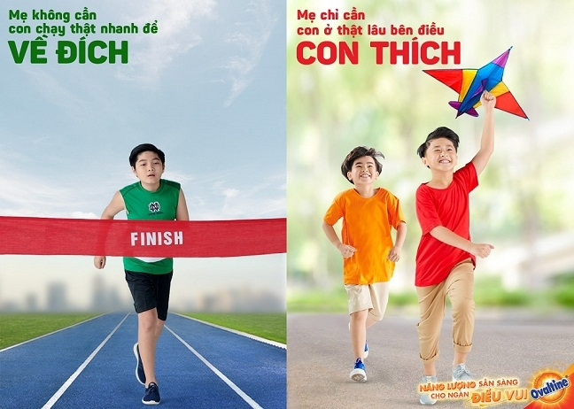 Bo anh 'Chang can vo dich, chi can con thich' – Loi hoi dap cho cau hoi 'Neu con khong the lam bo me tu hao…'