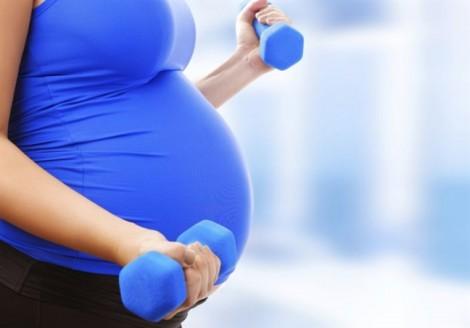 Mang bầu có được tập gym?