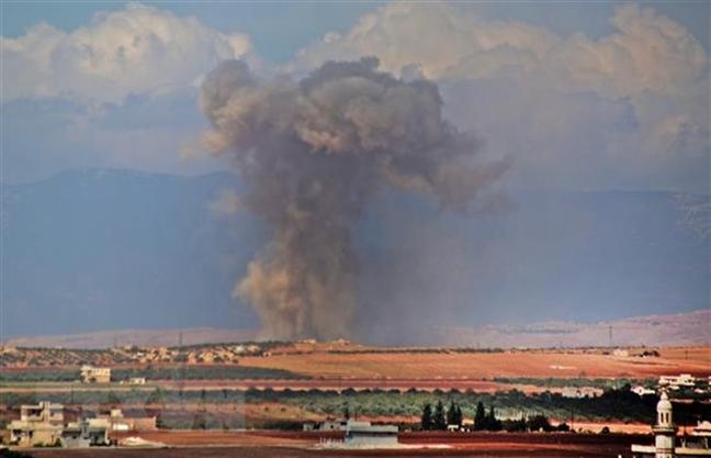 Syria: Phe noi day o Idlib chuan bi tan cong vao Aleppo va Hama