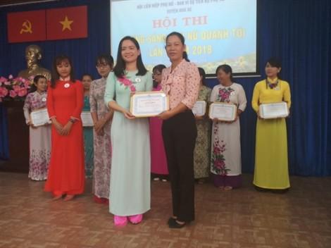 Huyện Nhà Bè: Hội thi 'Gương sáng phụ nữ quanh tôi'