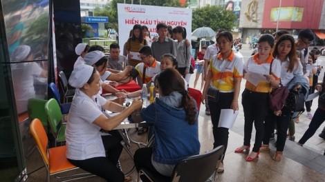 HD SAISON đóng góp hơn 500 đơn vị máu vào ngân hàng máu quốc gia
