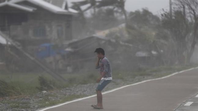 Philippines: So nguoi thiet mang do bao Mangkhut tang manh