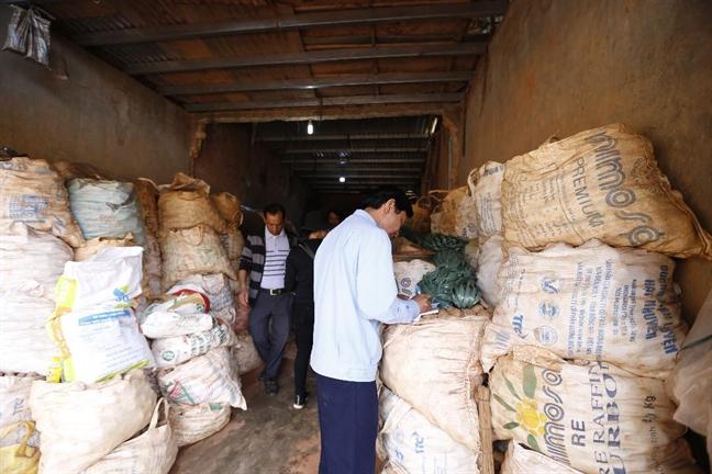 Van con 100 tan khoai tay Trung Quoc tai cho nong san Da Lat
