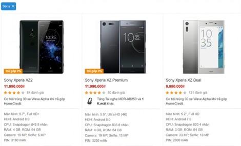 Giảm giá mạnh hàng loạt sản phẩm, Sony bị đồn rút mảng smartphone khỏi Việt Nam