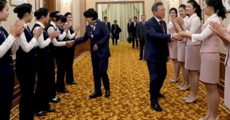 Cái kết đẹp và bất ngờ cho ngày cuối hội nghị thượng đỉnh Hàn -Triều