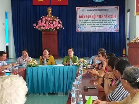 Huyện Nhà Bè: Hội viên lên tiếng về vệ sinh an toàn thực phẩm và ô nhiễm môi trường