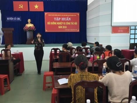 Huyện Củ Chi: 250 cán bộ chi, tổ Hội và hội viên nòng cốt được tập huấn nghiệp vụ