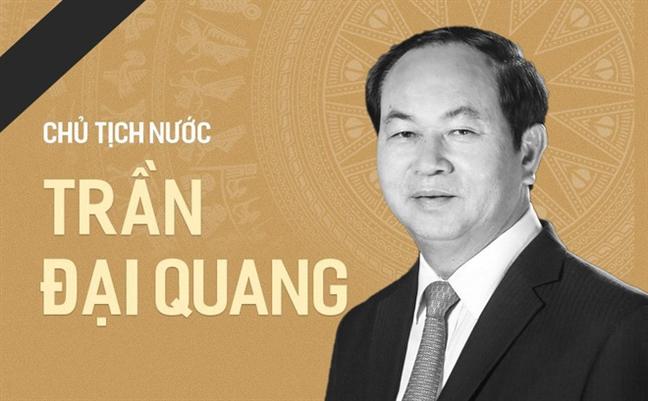 Thong cao dac biet ve le tang Chu tich nuoc Tran Dai Quang