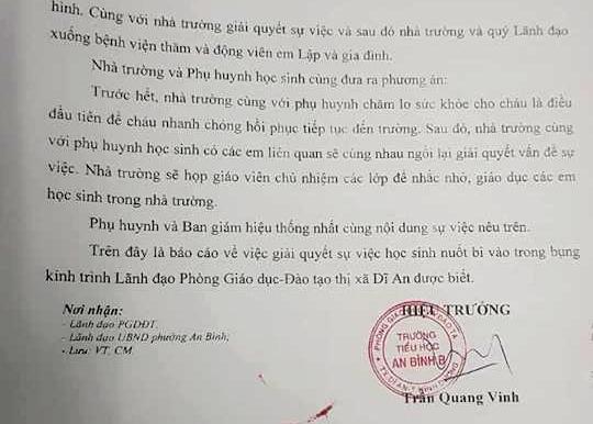 Vu hoc sinh lop 5 nuot 9 vien bi: Benh nhi co thoi quen uong muc va an do do?