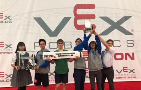 Bạn muốn thử sức với cuộc thi VEX Robotics Competition?