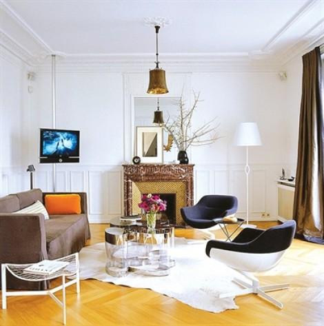 7 cách đơn giản mang phong cách Paris vào không gian sống