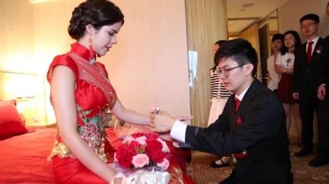 Thiếu cô dâu, Trung Quốc ra tay 'bình ổn' tiền thách cưới