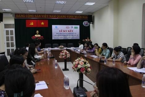 Hội LHPN TP.HCM ký kết chương trình kết nối hội viên phụ nữ