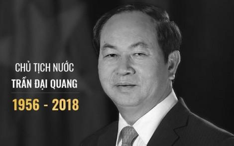 TP.HCM thông báo chi tiết về lễ viếng và lễ truy điệu Chủ tịch nước Trần Đại Quang