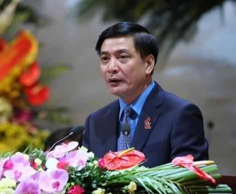 Ông Bùi Văn Cường tái đắc cử Chủ tịch Tổng Liên đoàn Lao động Việt Nam