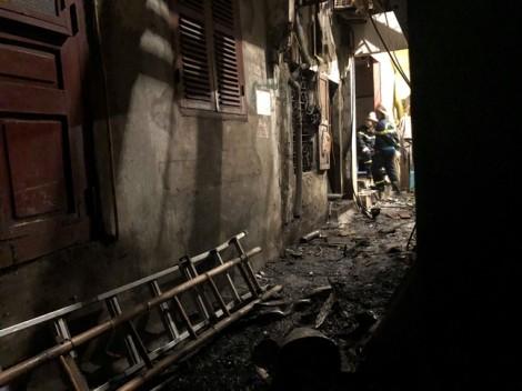 Khởi tố vụ cháy cạnh Bệnh viện Nhi Trung ương làm vợ chồng tử vong