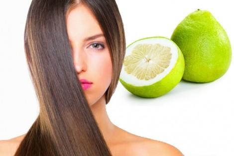 Cách làm tinh dầu bưởi xịt tóc tại nhà