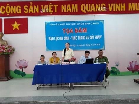 Huyện Bình Chánh: Tìm giải pháp ngăn chặn bạo lực gia đình
