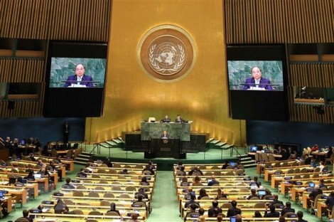 Thủ tướng nêu 'trách nhiệm kép' trong bài phát biểu tại Liên hợp quốc