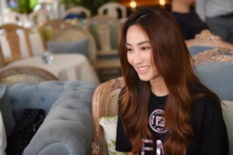 Diễn viên Ngân Khánh: 'Vợ được chồng hỗ trợ tài chính là may mắn'