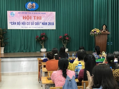 Quận Phú Nhuận: Phường 1 đoạt giải nhất hội thi 'Cán bộ Hội Phụ nữ cơ sở giỏi'